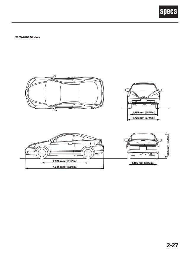 2003 ACURA RSX Service Repair Manual