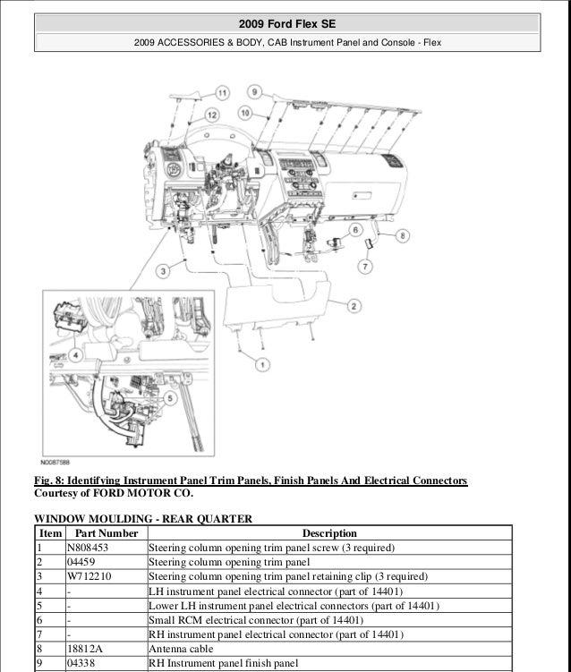 2009 equinox window wiring diagram 2011 ford flex wiring diagram service manual  2011 ford flex wiring diagram service