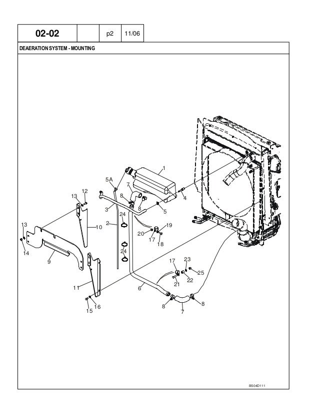 CASE 580 Super M+ Series 2 Backhoe Loader Parts Catalogue Manual