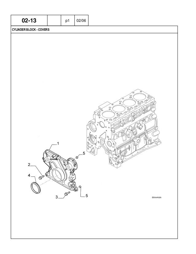 CASE 580 Super M+ Series 2 Backhoe Loader Parts Catalogue