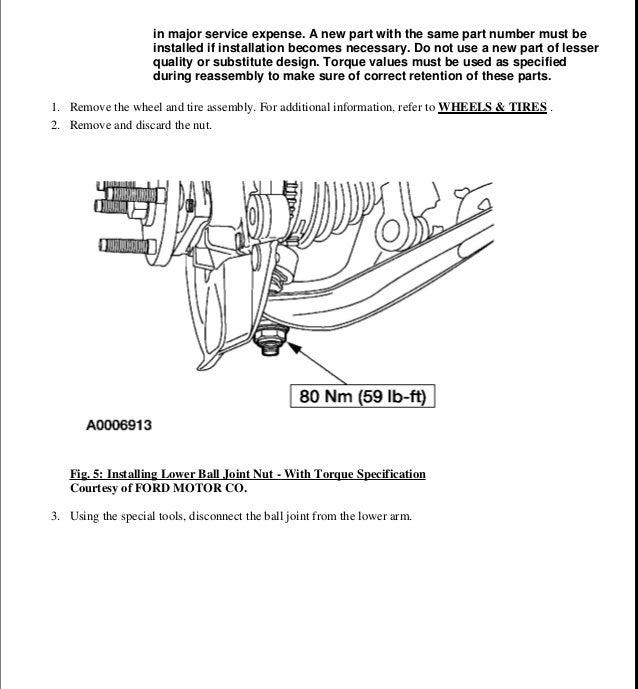 2007 Ford Taurus Service Repair Manual