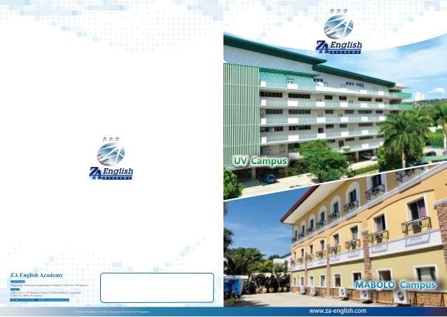 Trường Anh ngữ ZA English - Brochure 2018 Tiếng Việt