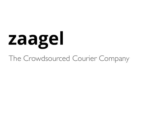 The Crowdsourced Courier Company