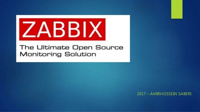 Zabbix 3 2 presentation June 2017