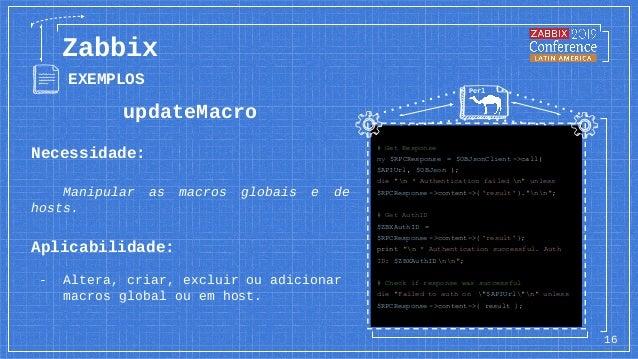 updateMacro Necessidade: Manipular as macros globais e de hosts. Aplicabilidade: - Altera, criar, excluir ou adicionar mac...