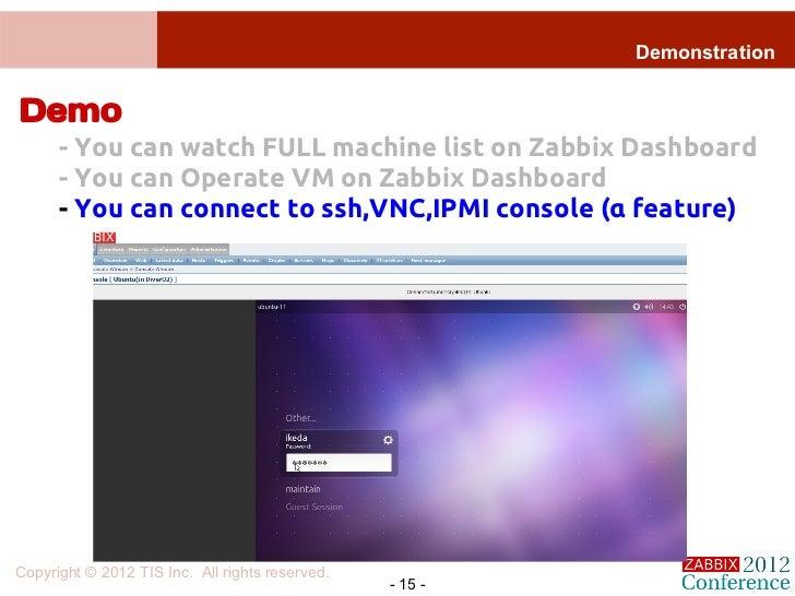 Zabbix for Hybrid Cloud Management