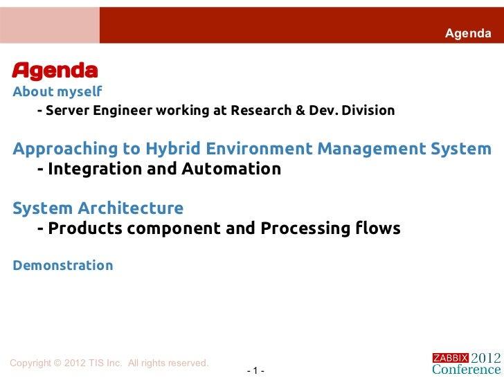 Zabbix for hybrid cloud management for Architecture zabbix