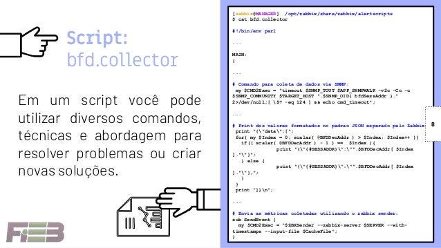 Igor Nicoli: External scripts O poder do Zabbix em suas mãos
