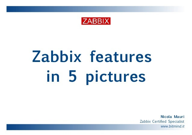 Zabbix monitoring in 5 pictures