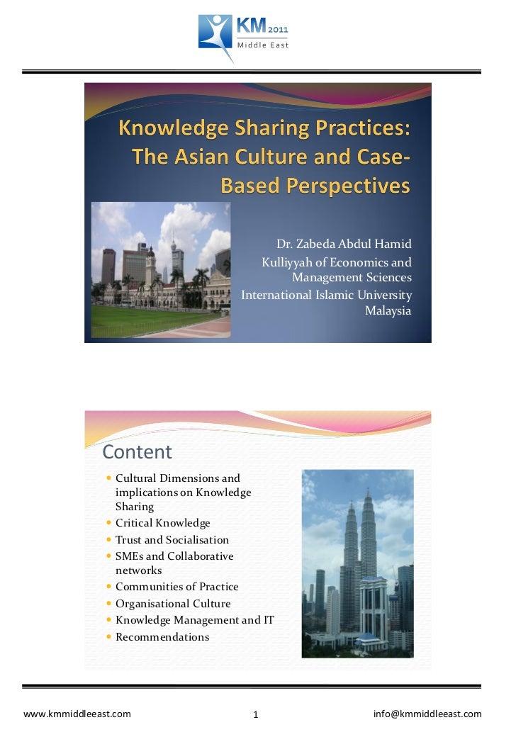 Dr. Zabeda Abdul Hamid                                               Kulliyyah of Economics and                           ...