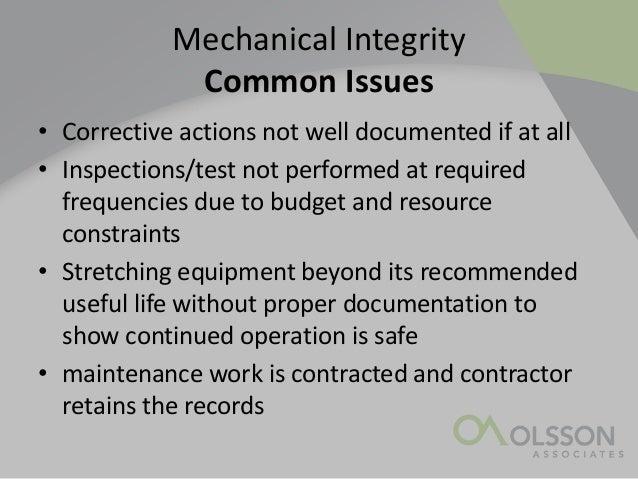 Zablocki, Shawn, Olsson Associates, Mechanical Integrity
