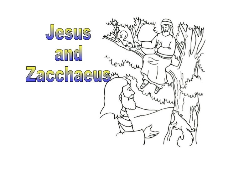 ...you should know about Zacchaeus.• Zacchaeus was a little man.• And Zacchaeus was a rich man.• And nobody liked him very...
