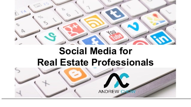 Social Media for Real Estate Professionals