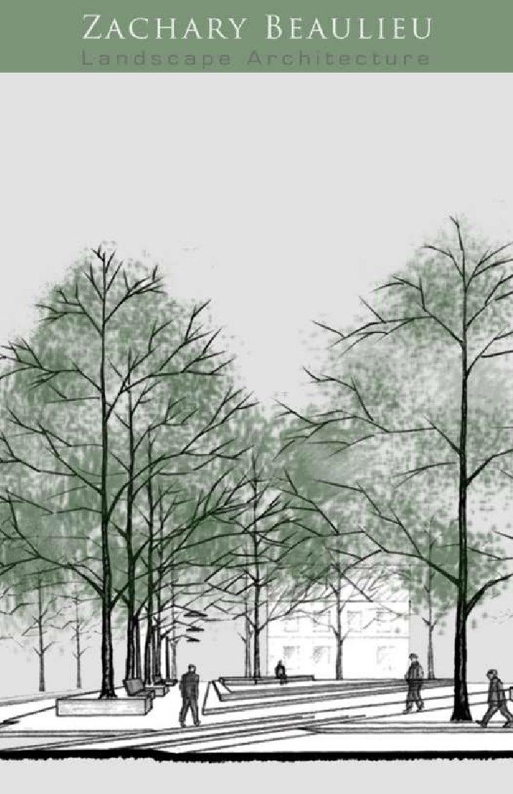 Zach Beaulieu Landscape Architecture