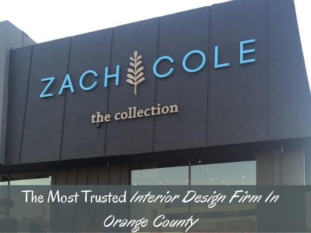 Hire Interior Designers Near Newport Beach Zach Cole Design