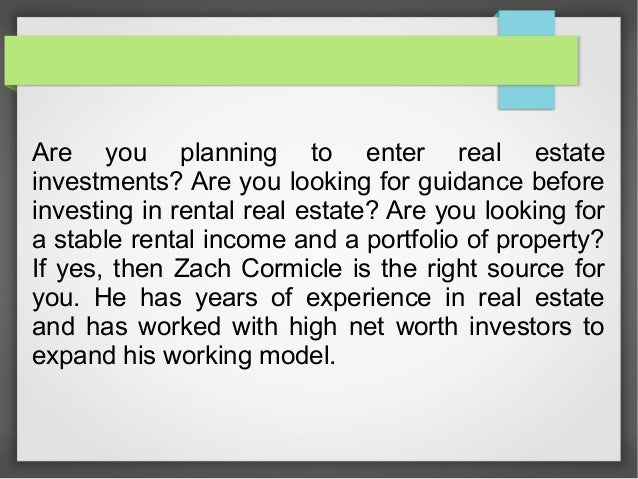 Are you planning to enter real estate investments? Are you looking for guidance before investing in rental real estate? Ar...