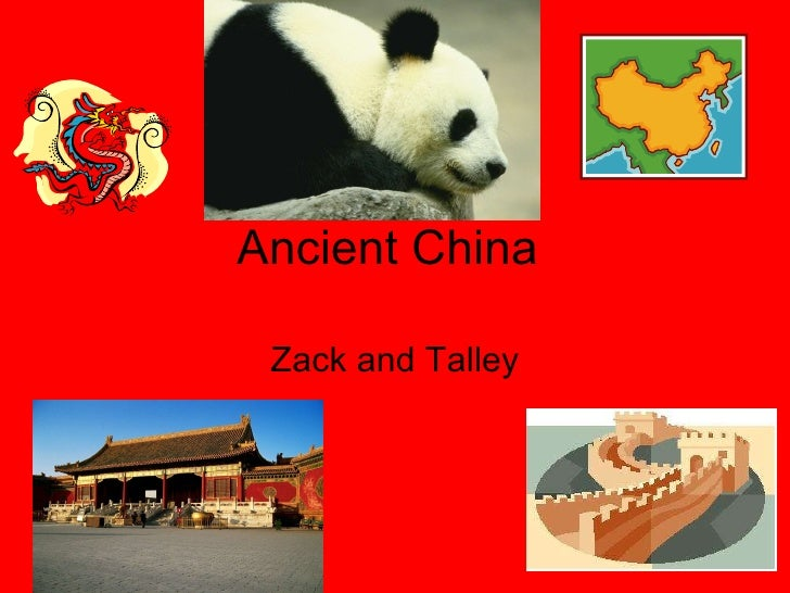 Ancient China Zack and Talley