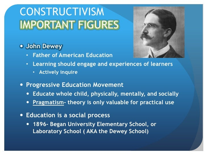 Education Is A Progressive Discovery Of Our: Zack Constructivismlearningtheory