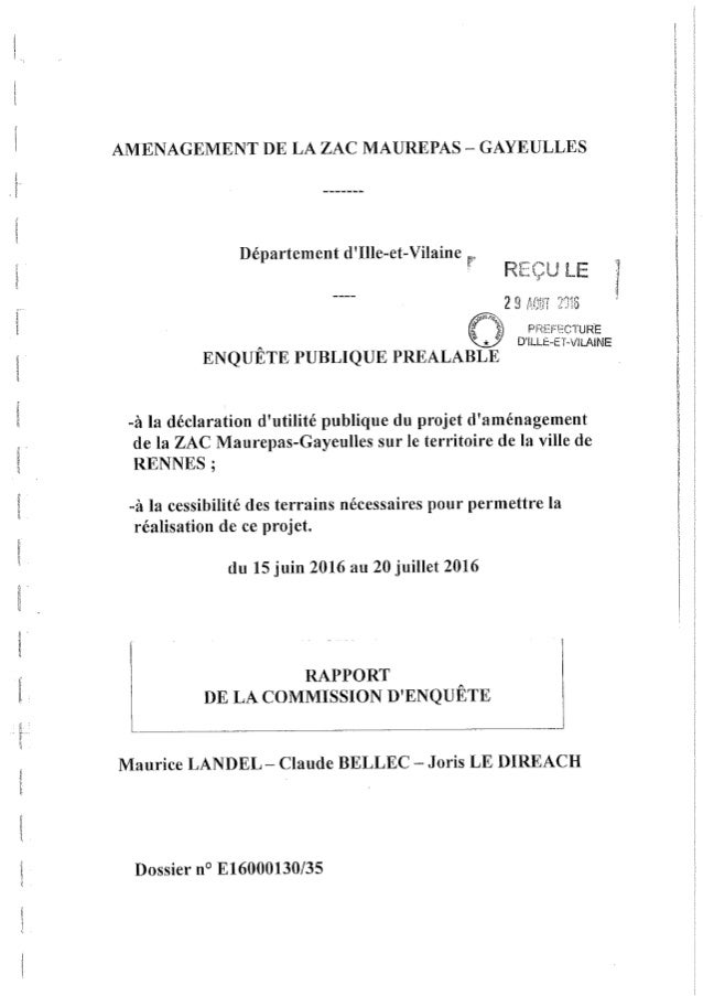 Zac Maurepas-Gayeulles - enquête publique préalable - PJ 3