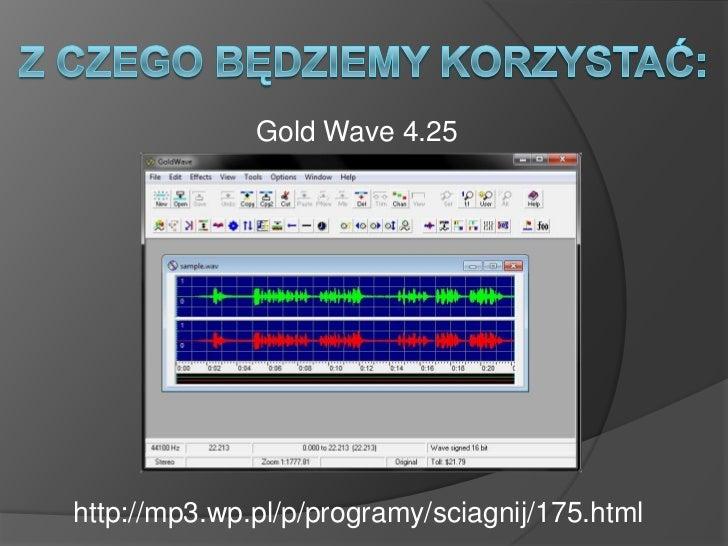 goldwave 4.25