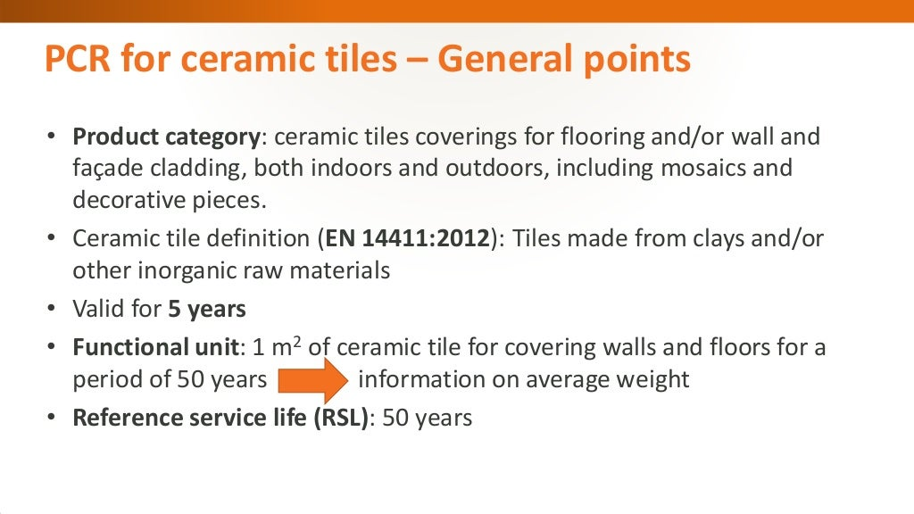 Cet Product Category Rules For Ceramic Tiles Victoria Zaera