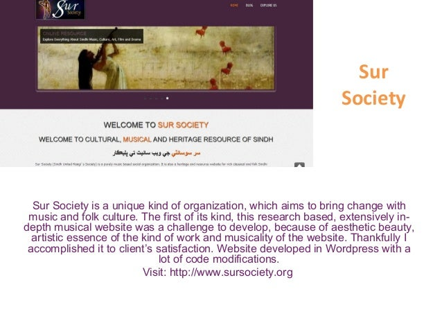 Sur Society Sur Society is a unique kind of organization, which aims to bring change with music and folk culture. The firs...