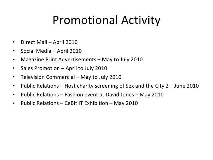 Zafino Laptop Bag Marketing U0026 Promotion Proposal  Promotion Proposal Sample