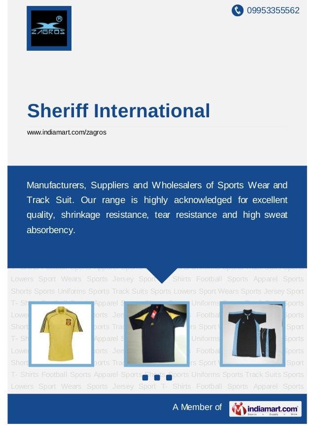 09953355562    Sheriff International    www.indiamart.com/zagrosSports Jersey Sport T- Shirts Football Sports Apparel Spor...