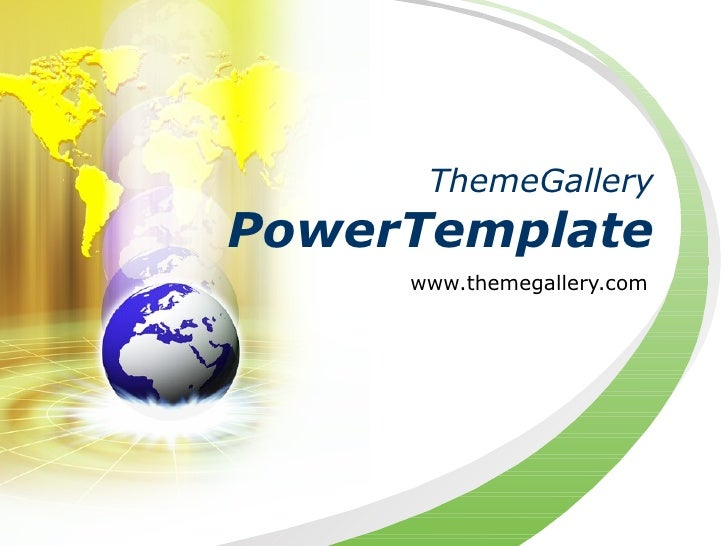 ThemeGalleryPowerTemplate     www.themegallery.com