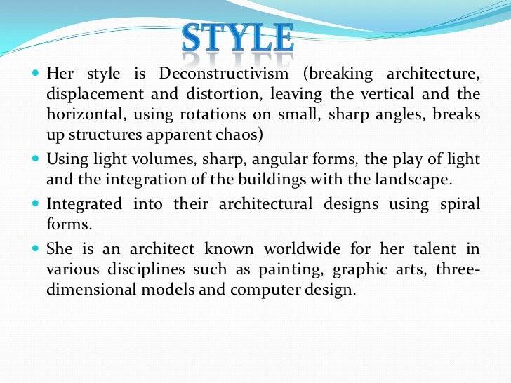 Zaha Hadid Two Projects