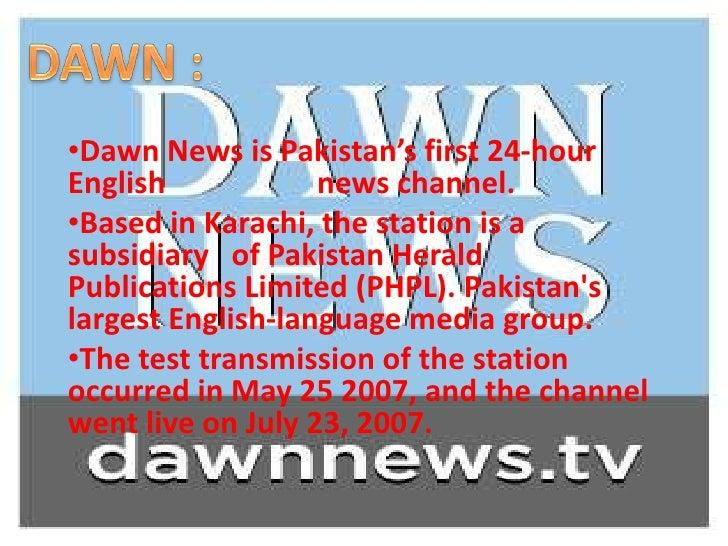 Dawn News Channel