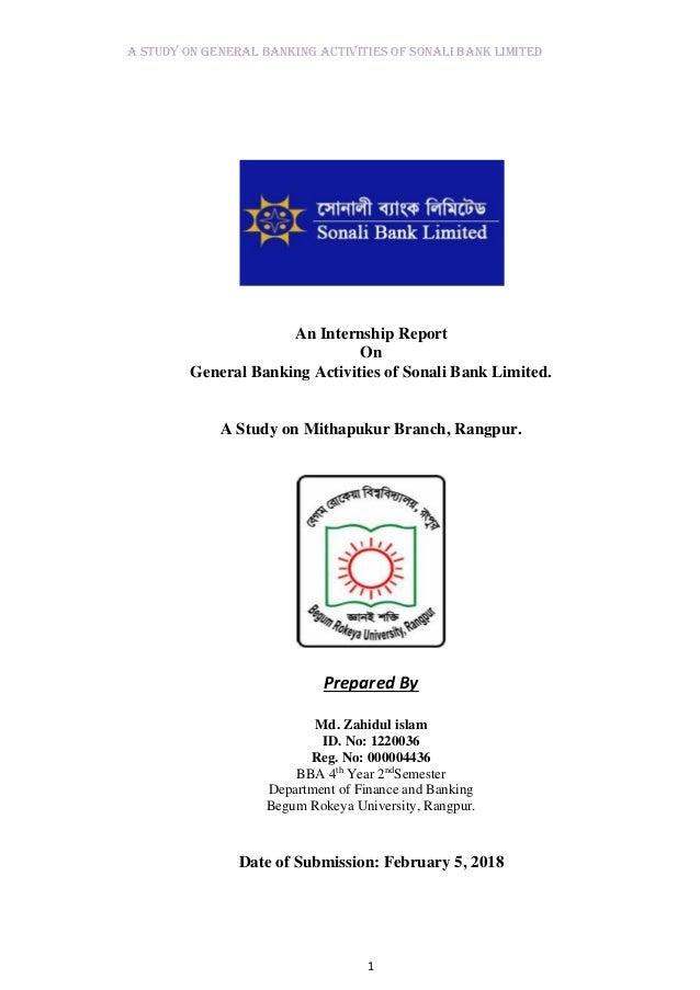 Bank internship report on agrani bank rajshahi university branch on customer satisfaction