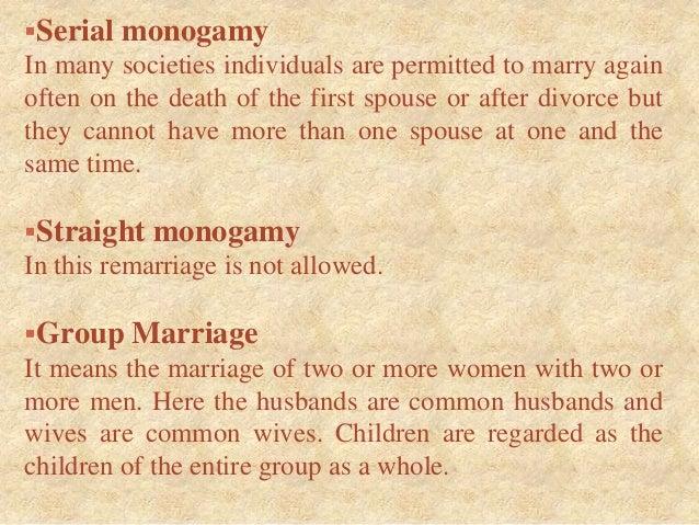 Define monogamous marriage