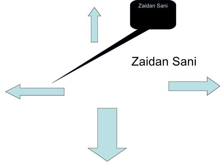 Zaidan Sani Zaidan Sani