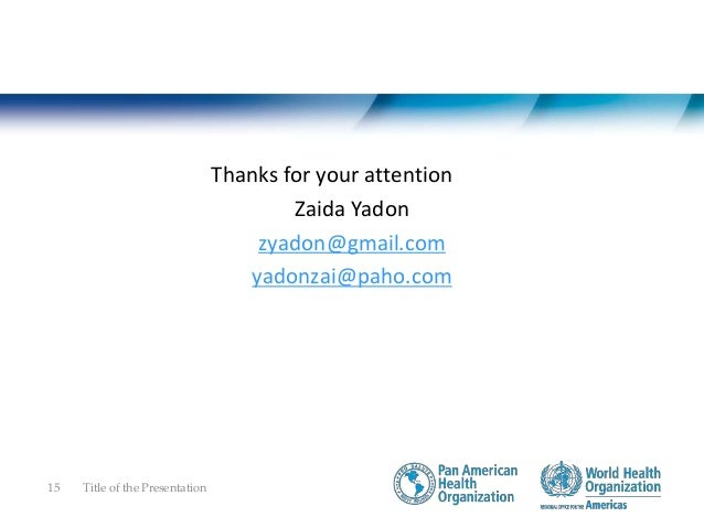 Communicable diseases research - Pan American Health Organization