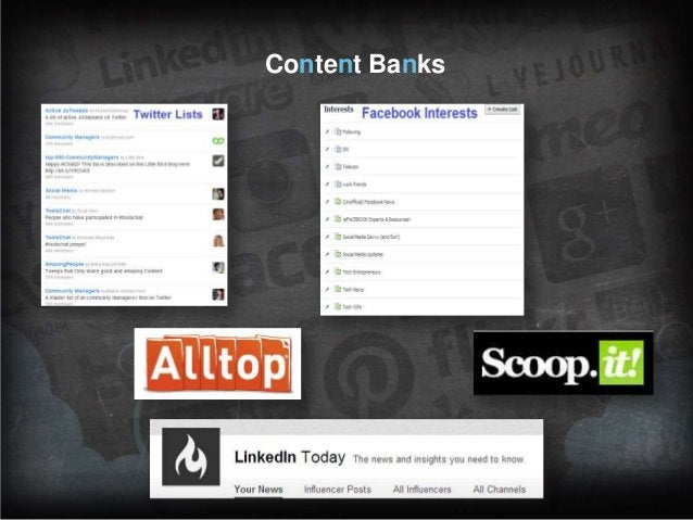 Content Banks