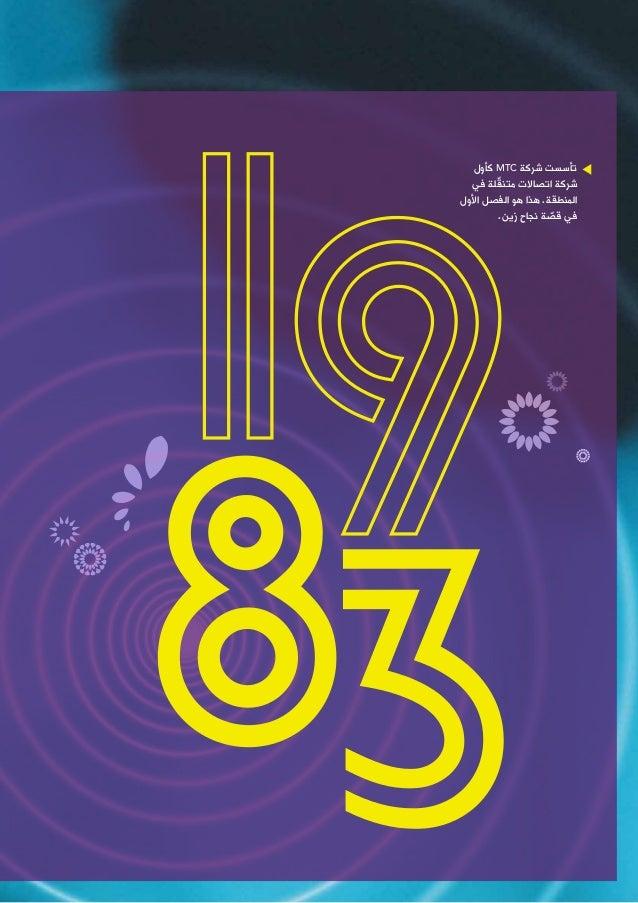 30 Years Of Turning Goals Into Milestones Zain S 2013 Arabic Annual