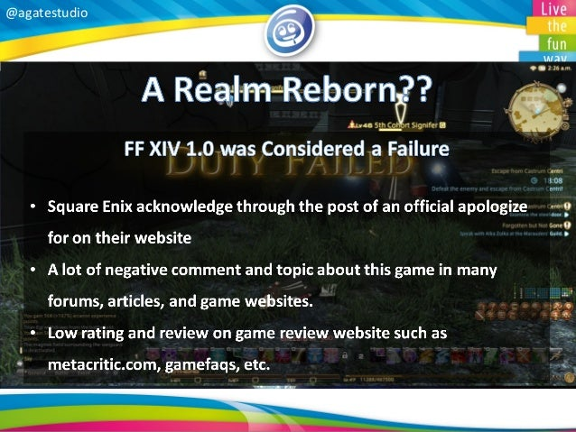 Final Fantasy XIV Review by Zaki Andiga