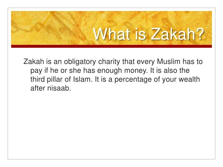 What is Zakah?<br />Zakah is an obligatory charity that every Muslim has to pay if he or she has enough money. It is also ...