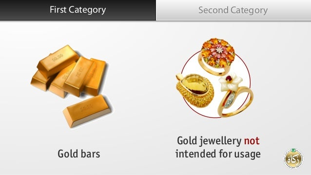 Kategori Pertama Second Category Gold bars Gold jewellery not intended for usage First Category