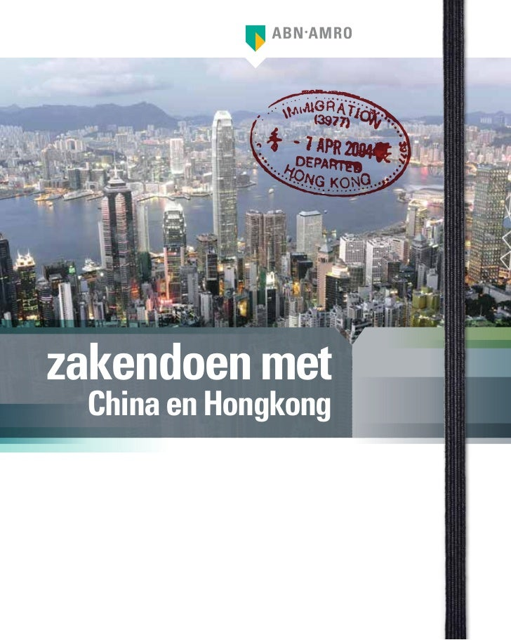 zakendoen met China en Hongkong