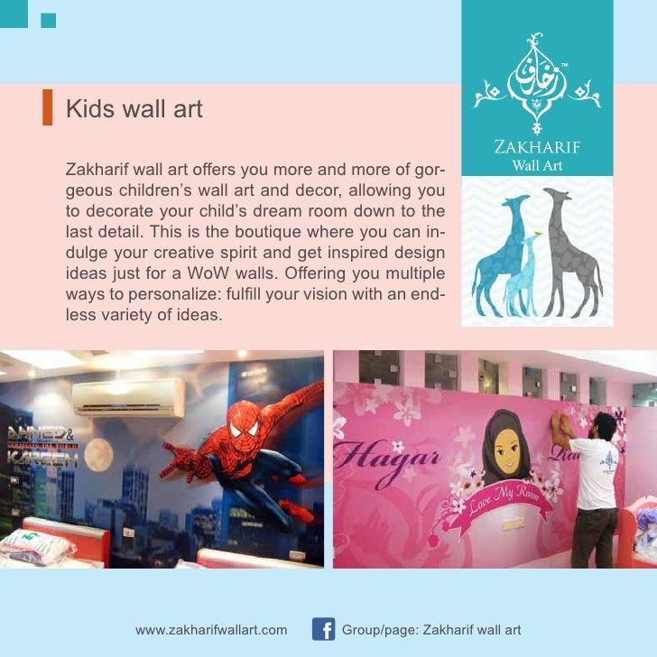 Zakharif Wall Art Kids Rooms
