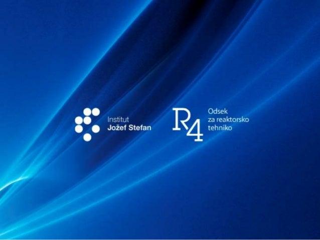 2r4.ijs.si Zakonodajni okvir za jedrsko varnost in raziskave Leon Cizelj Ljubljana, 28.11.2016