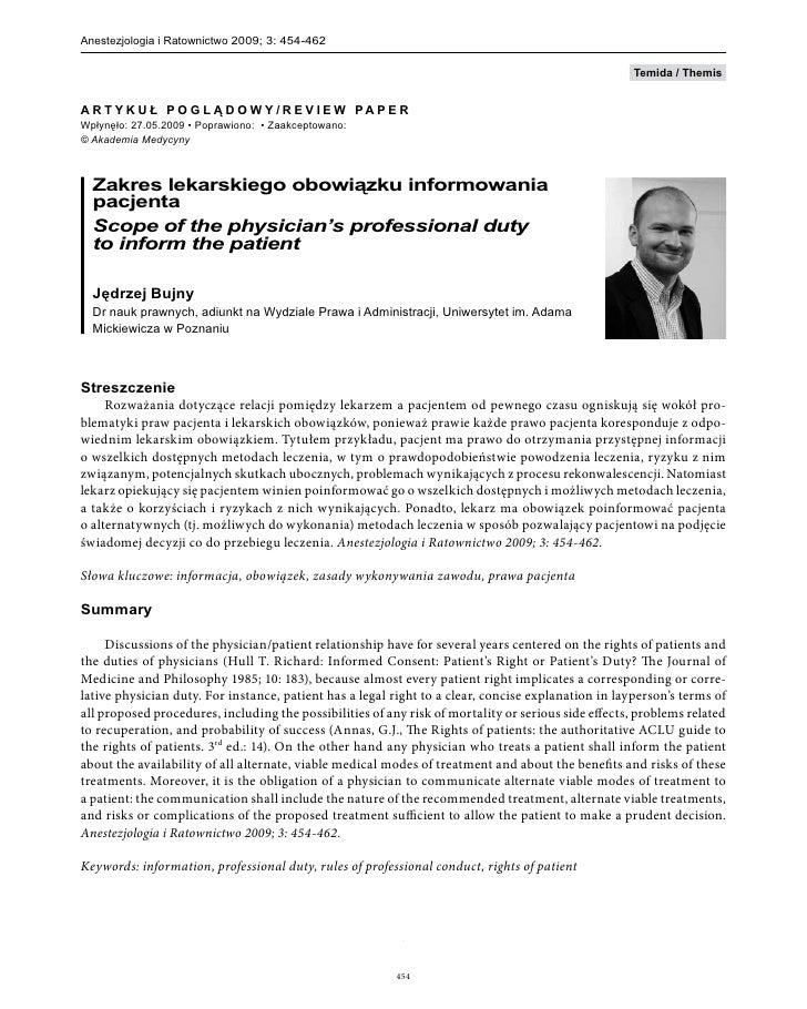 Anestezjologia i Ratownictwo 2009; 3: 454-462                                                                             ...