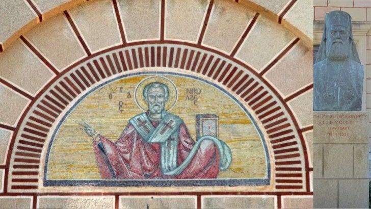 The church walls are         allcovered by paintingsPereţii   sunt   acoperiţi   cupictură