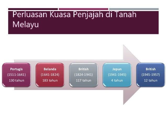 Zaman Penjajahan Tanah Melayu