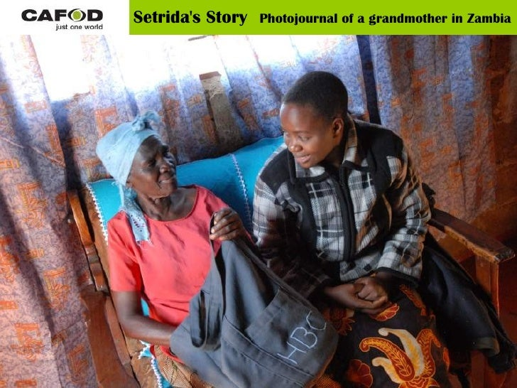 Setrida's Story   Photojournal of a grandmother in Zambia