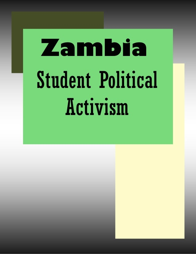Student Political Activism Zambia