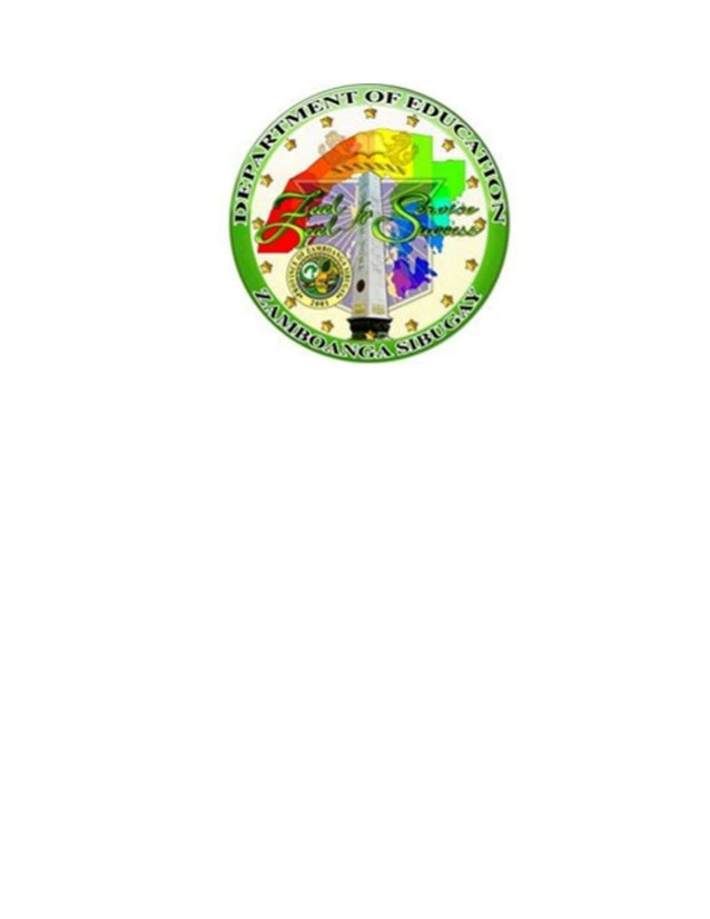 Zamboanga sibugay deped seal logo