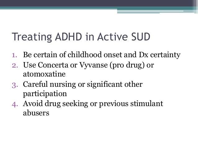 relationship to study drug ritalin
